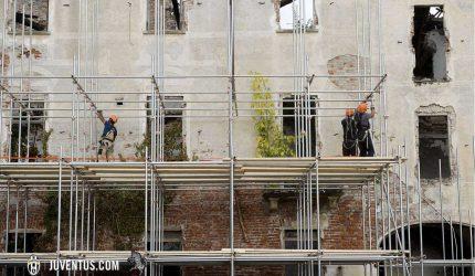 Foto Marco Alpozzi - LaPresse 05 03 2014 Torino  Cantiere della Continassa