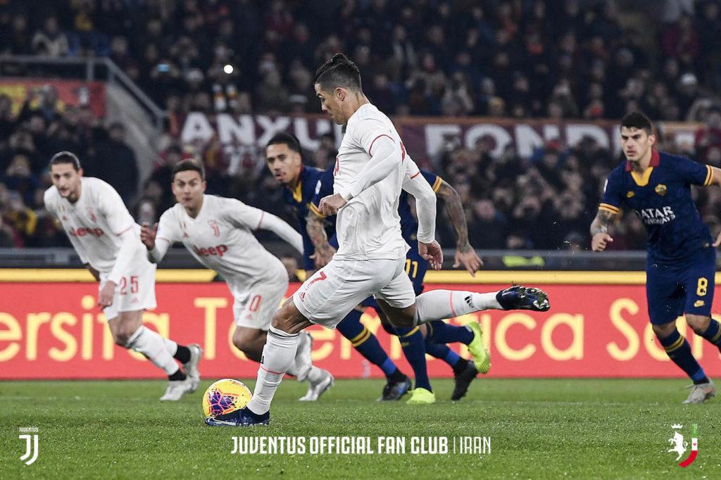 آمار دیدار های دو تیم یووه - رم در جام حذفی