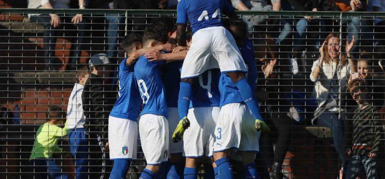 جوانان ایتالیا در آستانه بازپس گیری شکست برابر فرانسه